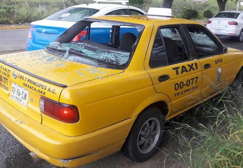 No cesa violencia entre sindicatos de taxistas | El Imparcial de Oaxaca