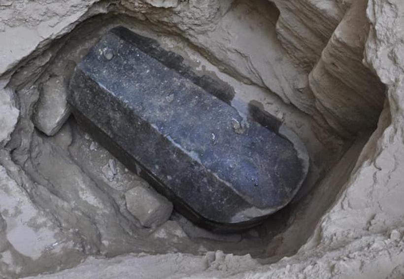 Encuentran sarcófago enterrado en las calles de Egipto | El Imparcial de Oaxaca