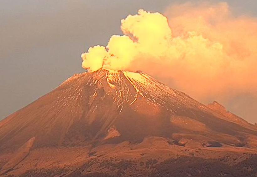 Volcán Popocatépetl lanza fragmentos incandescentes | El Imparcial de Oaxaca
