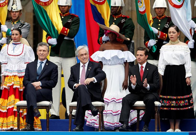 Peña Nieto felicita a nuevo presidente de Colombia | El Imparcial de Oaxaca