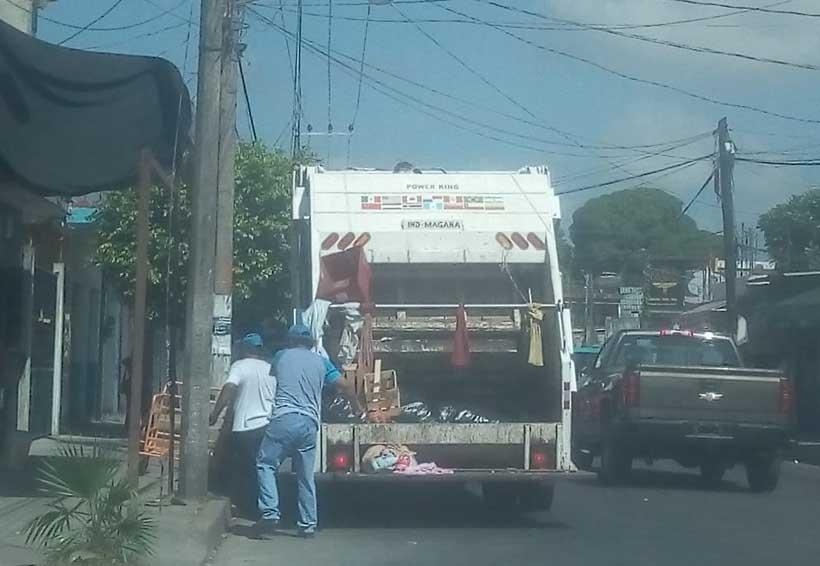 Continúan problemas de contaminación por basura en Tuxtepec