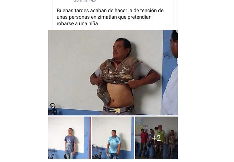 """Psicosis en Oaxaca por noticias de """"robaniños""""; Fiscalía desmiente"""