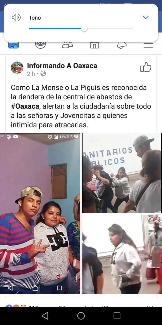 Identifica a supuesta ratera en la Central de Abasto | El Imparcial de Oaxaca