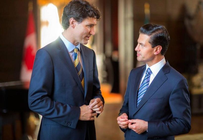 Peña Nieto pide a Canadá sumarse a la negociación del TLCAN | El Imparcial de Oaxaca