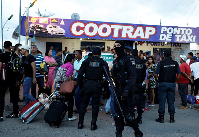 Brasil envía tropas a la frontera con Venezuela por enfrentamientos con inmigrantes | El Imparcial de Oaxaca
