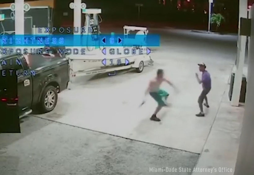 Video: Modelo mata con un bate a indigente que le pidió dinero | El Imparcial de Oaxaca