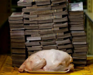 Así se ve la hiperinflación de Venezuela
