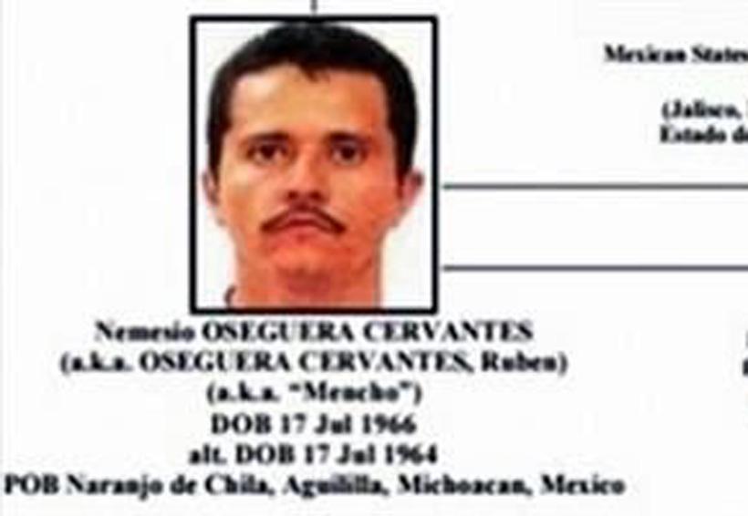 La PGR ofrece recompensa de 30 mdp por 'El Mencho' | El Imparcial de Oaxaca