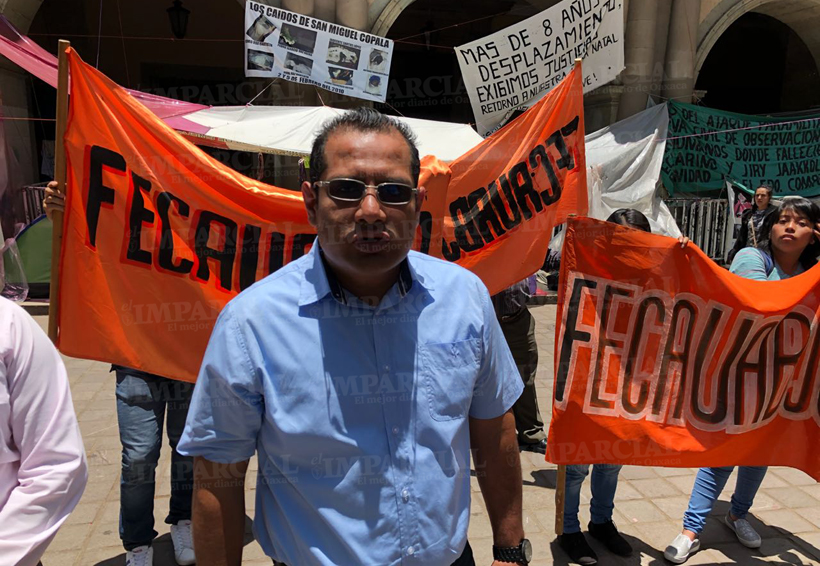 FECAUABJO realiza mitin para exigir más espacios | El Imparcial de Oaxaca