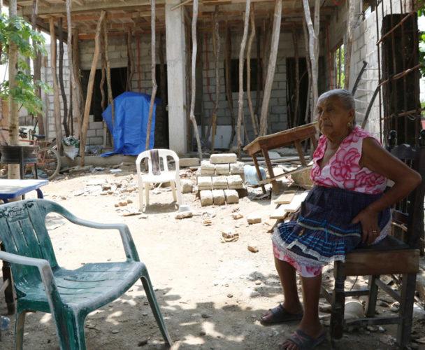 El 25% de viviendas en el Istmo siguen en ruinas, la reconstrucción es lenta
