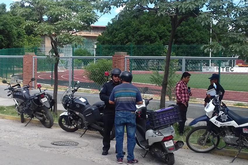 Aplican sanciones a motociclistas irresponsables de Oaxaca | El Imparcial de Oaxaca