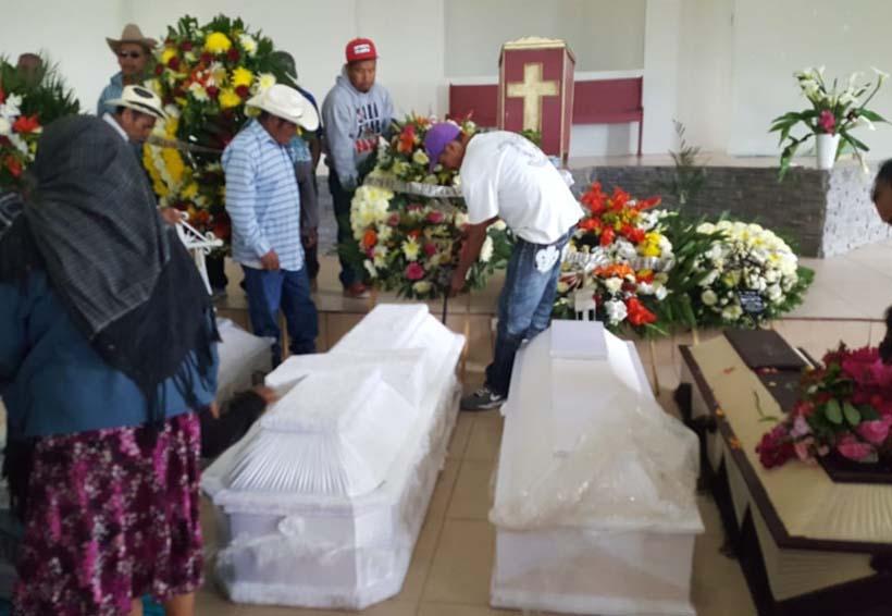 Vista Hermosa, Ñumí entierra a sus muertos
