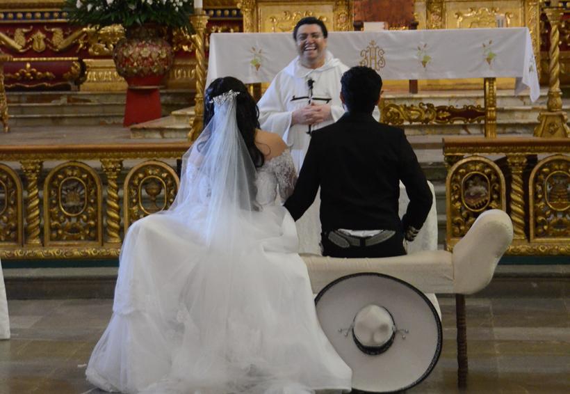 Rafael y Guadalupe se unieron en matrimonio