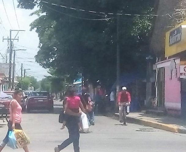 Bicicletas y triciclos en sentido contrario en Tuxtepec