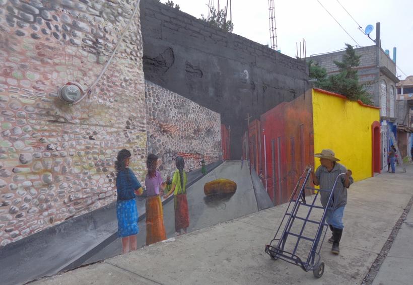 Buscan embellecer los callejones de Tlaxiaco