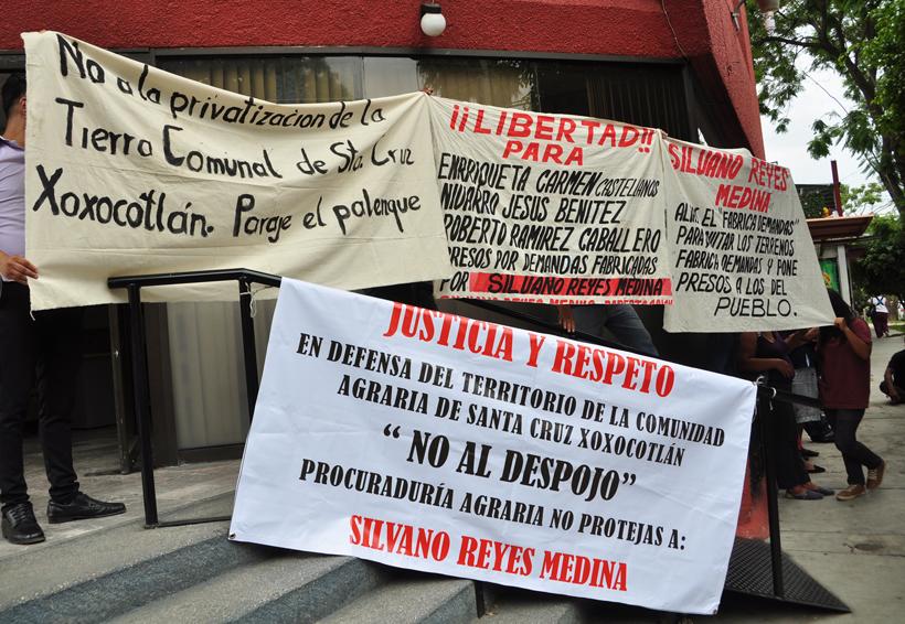 Piden comuneros de  Xoxocotlán frenar  despojo de tierras | El Imparcial de Oaxaca