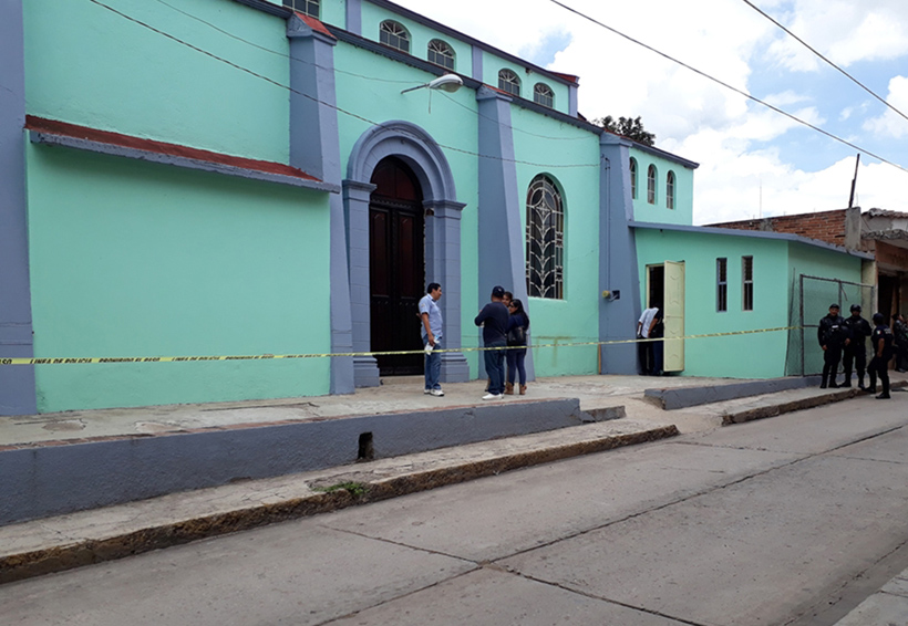 Asesinato en el templo de San José, en Huajuapan