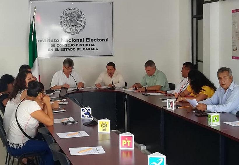Concluyen proceso en el Distrito Electoral 9 | El Imparcial de Oaxaca