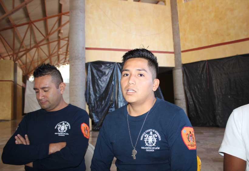 Cuerpo de Bomberos de la Mixteca enamorados de su trabajo