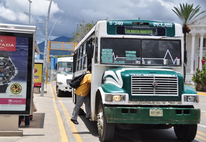 El 'pulpo camionero' logra tarifa de $8.00 | El Imparcial de Oaxaca