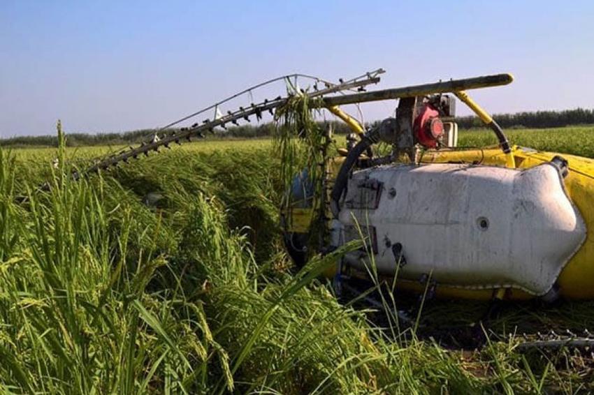 Se desploma helicóptero de fumigación en Ojitlán, Oaxaca | El Imparcial de Oaxaca