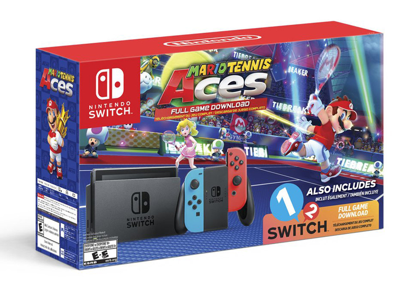 Nintendo anuncia un nuevo pack de Nintendo Switch con Mario Tennis Aces | El Imparcial de Oaxaca