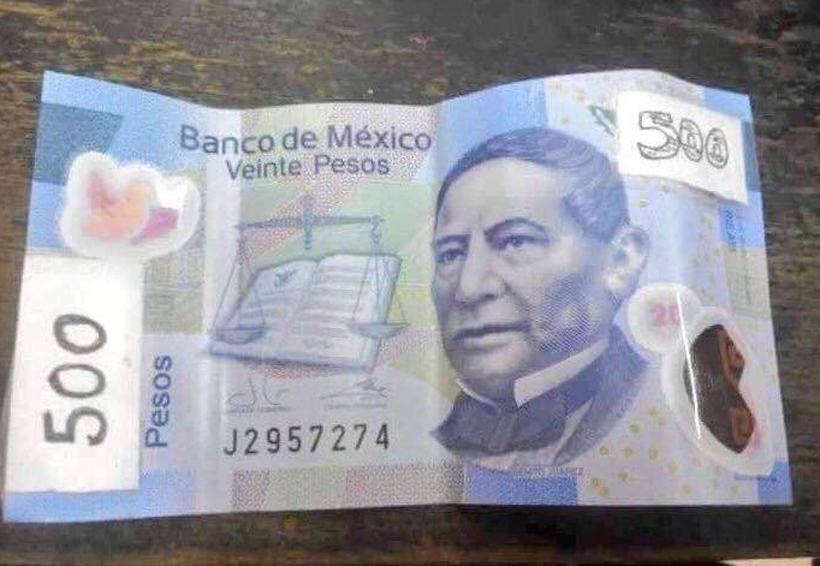 Adiós al billete de 20 pesos… y surgen los memes por el de $500 | El Imparcial de Oaxaca