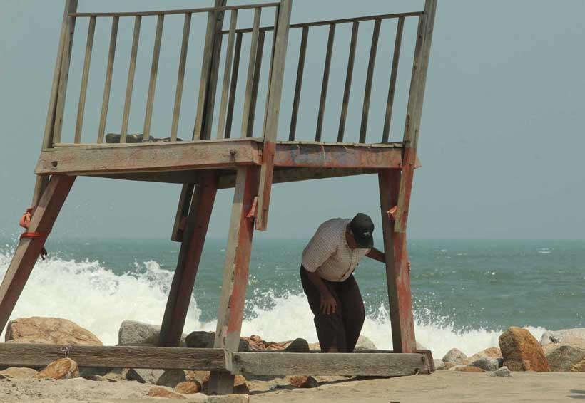 Sin daños mayores en la  Costa por mar de fondo | El Imparcial de Oaxaca