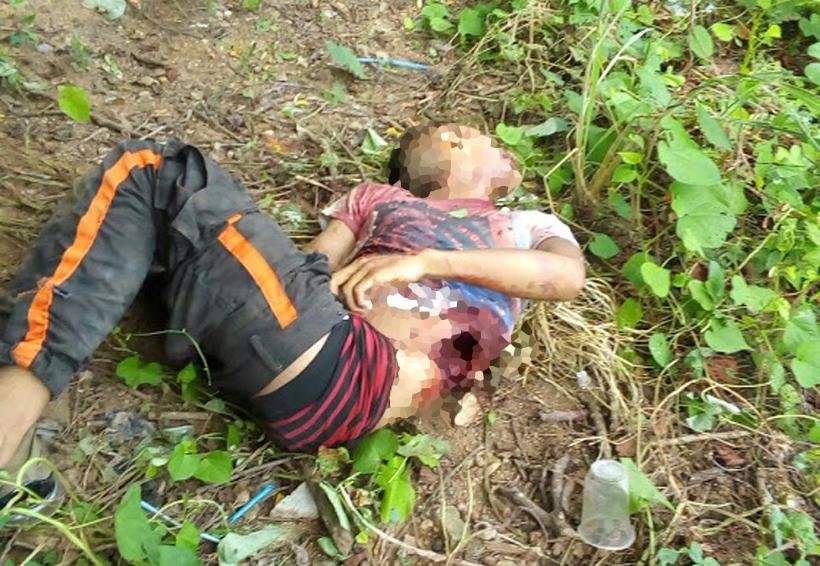 Lo encuentran muerto a orilla de carretera en Huaxpaltepec
