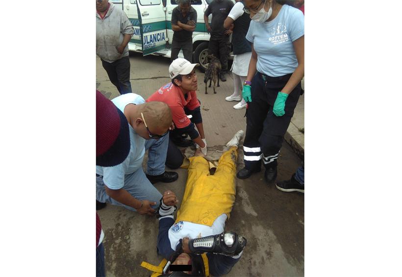 Embisten a repartidor de  refacciones en Santa Lucia del Camino