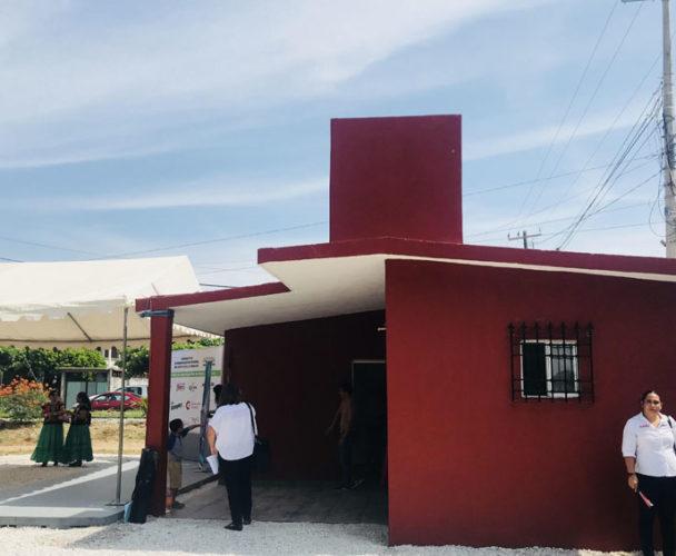 """Entrega """"Construyendo"""" las  primeras casas en Unión Hidalgo, Oaxaca"""