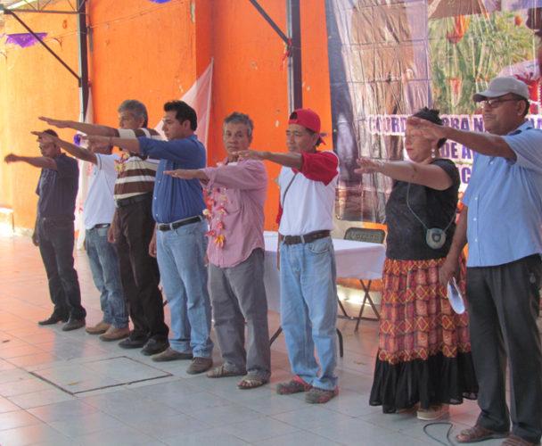 Realizan Congreso Distrital  de la CNPA en Juchitán