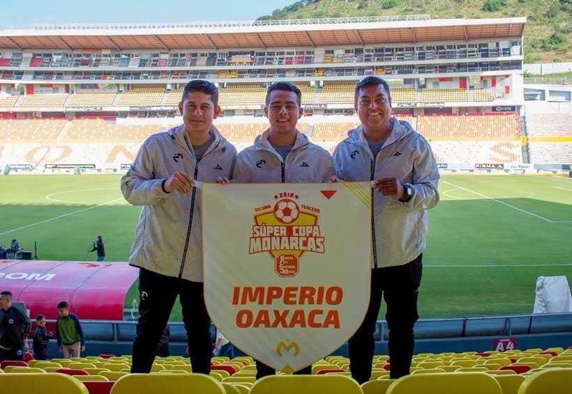Oaxaca estuvo presente en la Copa Imperio Monarcas