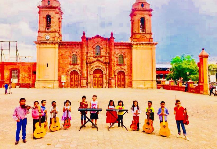 Impulsan en la Mixteca el gusto por la música a  través de la enseñanza temprana | El Imparcial de Oaxaca