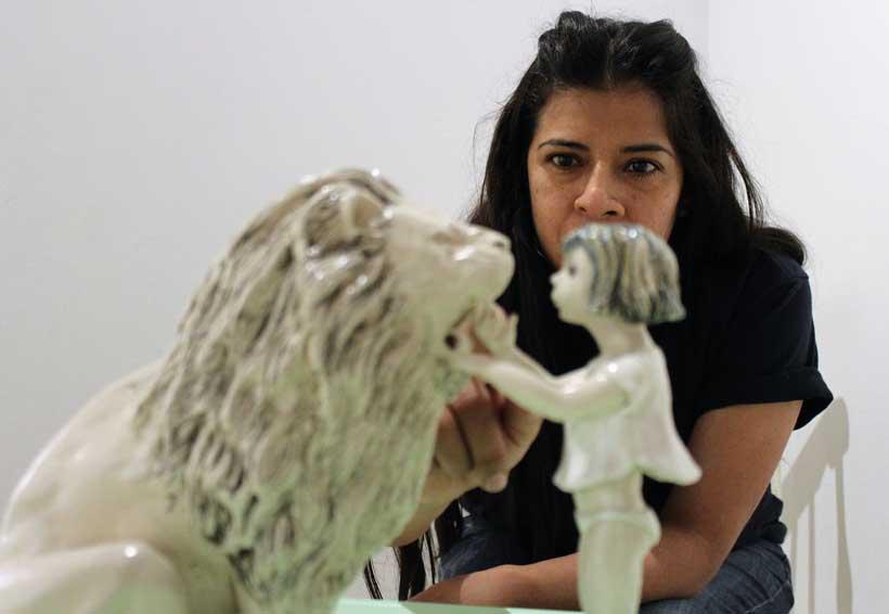 Isabel Sánchez recrea la fragilidad  del monstruo
