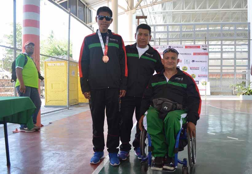 Siguen cayendo las medallas en la Paralimpiada Nacional