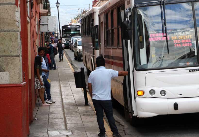Demandan mejoras en transporte urbano de Oaxaca | El Imparcial de Oaxaca