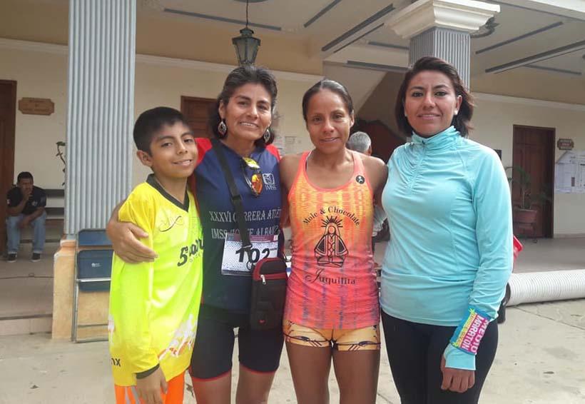 La mejor oaxaqueña del Maratón CDMX 2018