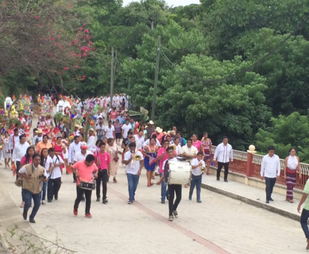 Guelaguetza regional en Tututepec