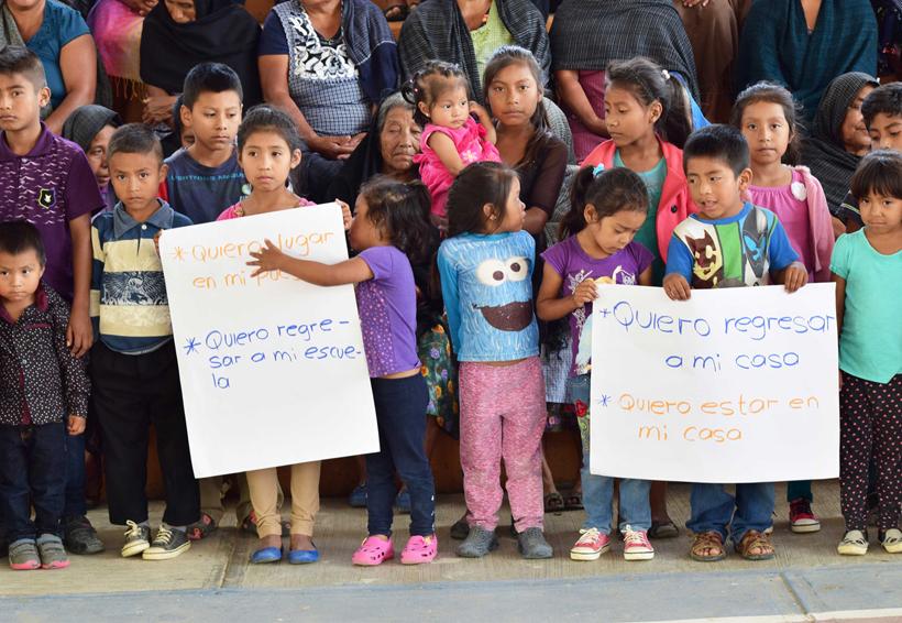 En Oaxaca, piden desplazados mixes retorno con paz y justicia | El Imparcial de Oaxaca