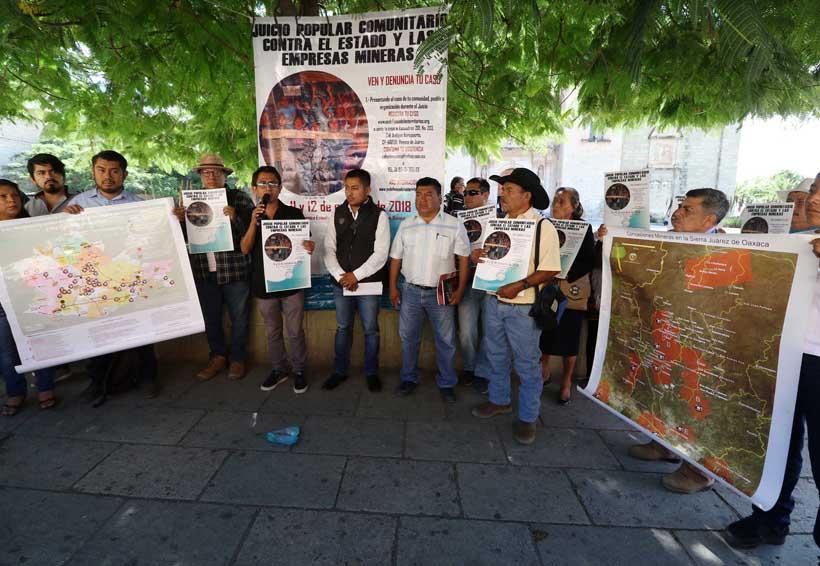 Piden juicio popular contra mineras en Oaxaca | El Imparcial de Oaxaca