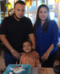 Oswaldo cumple 6 años