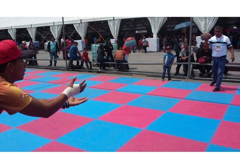 En el Festival de las Culturas, Oaxaca  presente con el juego de pelota
