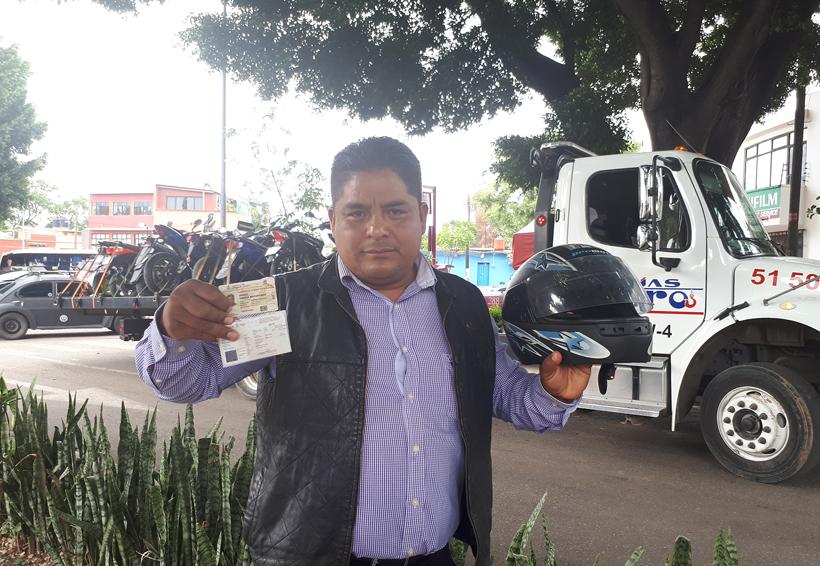 Piden reorientar  operativos viales en Oaxaca