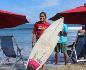 Maya Larripa brilla en el Nacional de Surf