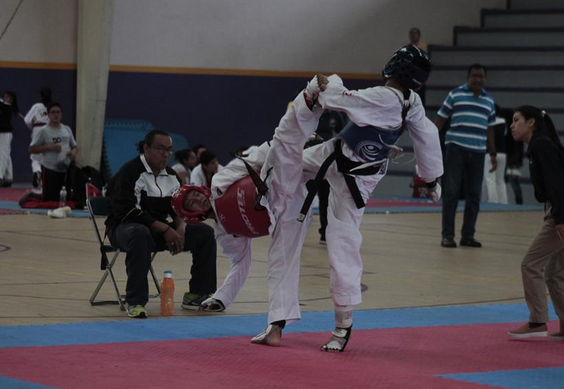 Tres oaxaqueños dignos representantes en el Taekwondo