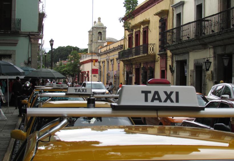 Taxistas de Oaxaca preparan festejos