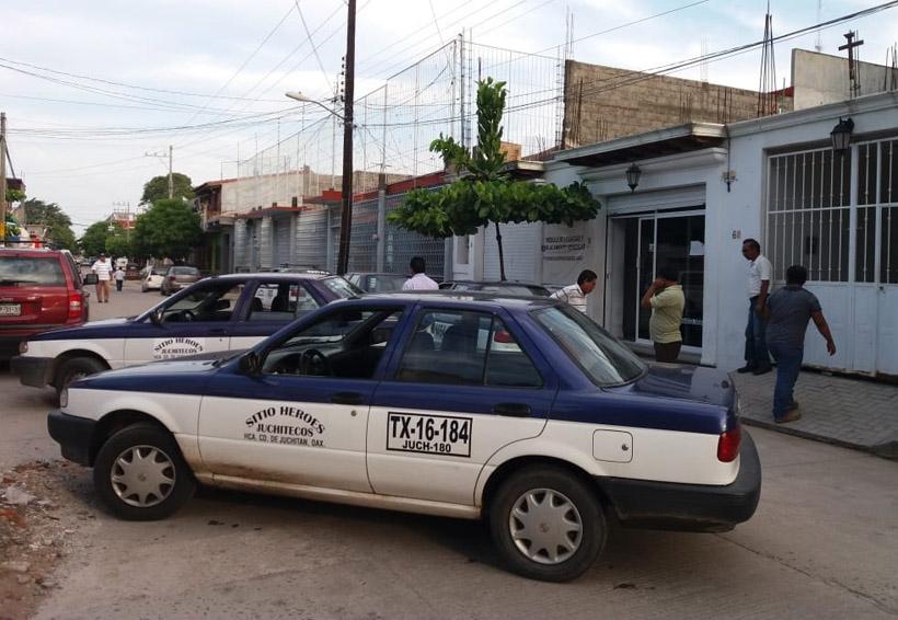 Taxistas toman oficinas de Sevitra en Juchitán