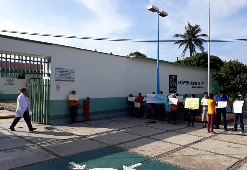 Toman Hospital del IMSS en Matías Romero, Oaxaca