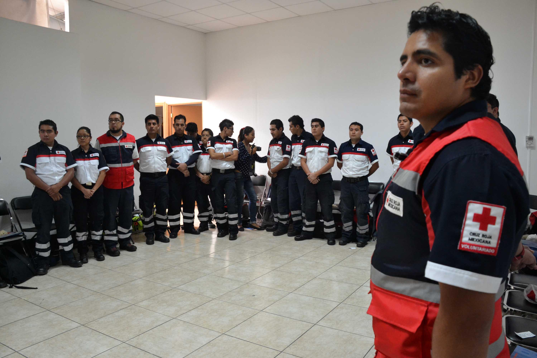 Alista Cruz Roja  mega simulacro en Oaxaca | El Imparcial de Oaxaca